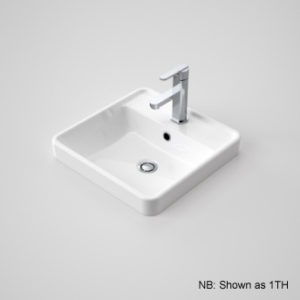 Caroma Carboni Vanity Basin 3th White