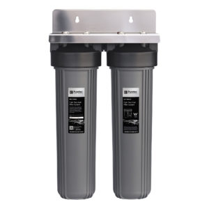 """Puretec Whole House Dual Filter System 20"""""""