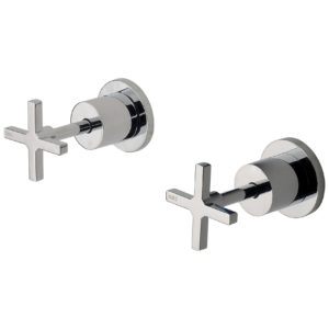 Phoenix Radii Wall Top Assembly Chrome (Pair)