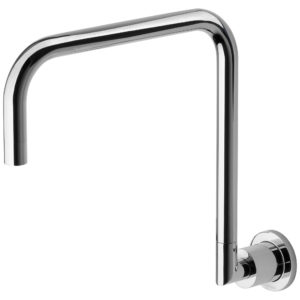 Phoenix Radii Wall Sink Outlet 300mm Chrome
