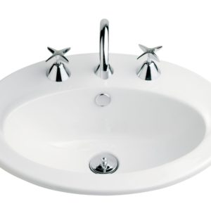 Vincent Vanity Basin 550mm 3th White